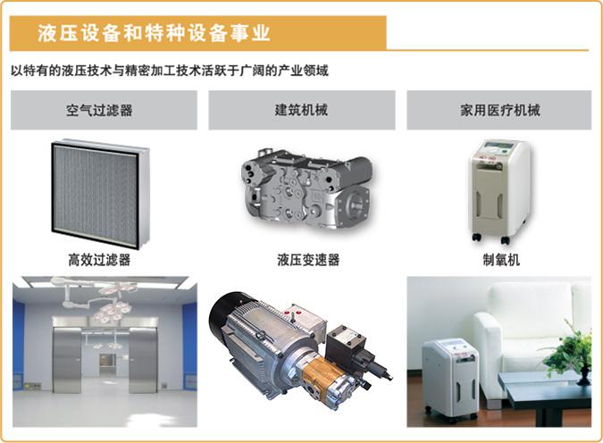 液压设备和特种设备事业